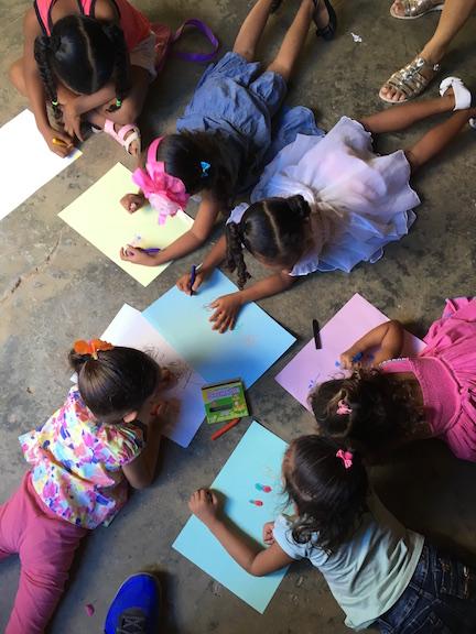 Juan Acosta Painting Girls